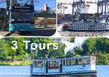 Hamburg Complete Tour Package: Bus City Tour, Harbor Cruise, Alster Cruise