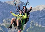 enjoy tandem paragliding at tennengebirge