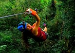Zipline Adventure with Atvs and a Cenote swim experience from Cancun.
