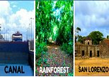 Cruiseline Excursion Colon: Rainforest, San Lorenzo Fort and Canal Expansion