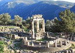 Private transfer to Corfu from Athens with a visit to Delphi or vice versa