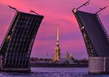 Midnight St Petersburg Cruise: Drawbridges and Canals
