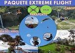 Paquete Extreme Flight (3 En 1 ) En Un Dia (Parapente, canopy, columpio)