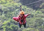 100% Adventure Park Combo: Zipline, Superman, and Mega Tarzan Tour in Monteverde