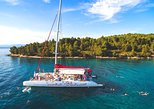 Full-Day Catamaran Cruise to Hvar & Pakleni Islands with Food and free Drinks