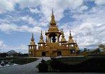 1 Day Trip White Temple - Tea Plantation - Longneck - Cruise to Laos Market