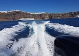 Private cruises along the coastline of Santorini and nearby islands