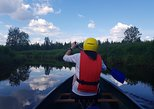 Canoe tour on the river Pyhäjoki