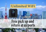Unlimited WiFi in Japan pick up at Narita Airport