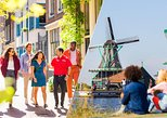 Combo: Zaanse Schans Windmills and Volendam Half-Day & Amsterdam Walking Tour