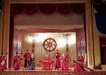 Mongolian traditional musical concert including traditional cuisine dinner