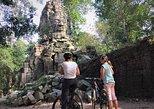 Angkor Wat Sunset Bayon Ta Prohm by bike from Siem Reap
