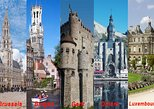 Private Tour : Brussels, Gent Bruges, Dinant and Luxembourg 3 Days excursion