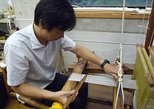 Kyoto Hands-on weaving session -plain weave