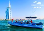 90 Minutes Speedboat Tour: Marina, Atlantis, Palm & Burj Al Arab...