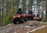 ATV safari on the shores of Saimaa, Rantasalmi