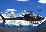 Everest Base Camp Helicopter Tour:Kalapatther landing with close Himalayas View