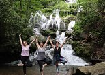 Epic Waterfall Yoga Hike near Asheville