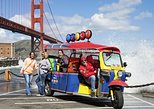 Lucky Tuk Tuk Ultimate City Tour San Francisco 2.5 Hours in Cute Electric Tuk