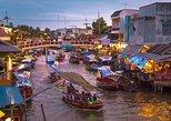Amphawa Floating Market Tour from Bangkok with Maeklong Railway Market