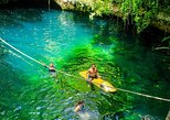 Drive an Atv, enjoy Ziplines and swim in a Cenote from Cancun and Riviera Maya