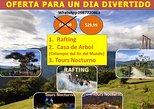 RAFTING, CASA DEL ARBOL, TOURS NOCTURNO POR TAN SOLO 29,99 USD