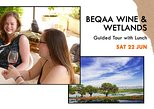 Beqaa Wine & Wetlands - Tour & Tasting with Lunch