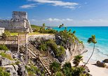 Discover Tulum, Coba, a Cenote and Playa del Carmen from Cancun or Riviera Maya