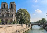 Notre Dame's Island with Sainte Chapelle and Marie Antoinette's prison
