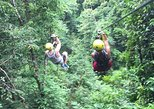 explore koh samui's greenery on a zipline