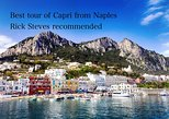 CAPRI TOUR FROM NAPLES WITH LUNCH RECOMMENDED BY RICK STEVES