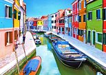 browse for lace in burano and admire the colorful painted houses