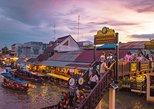 Amphawa Floating Market Tour from Bangkok stopover at Maeklong Railway Market