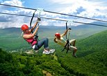 Zipline adventure near Kutaisi through Sairme resort and hot spring spa