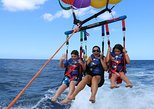 water sports in pattaya | coral island half-day trip for parasailing