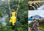Jungle Swing - Volcano - Water Temple - Monkey Forest and Waterfall Tour