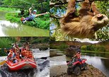 FLOATING, ATV and ZIP LINING COMBO TOUR.