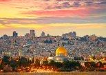 Jerusalem Old City & Mount Zion from Tel Aviv