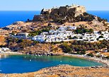 BOAT TRIP TO LINDOS WITH SWIMMING STOPS with Half Price Tours