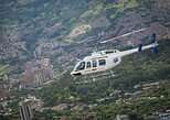 Tour en helicóptero por la ciudad de Medellin. Medellin, COLOMBIA
