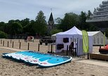 SUP rent in Jurmala - seaside resort with white dunes