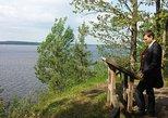 A hike in Kaunas reservoir regional park