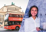Berlin Combo: Red Buses Hop-On-Hop-Off Bus & Icebar Ticket