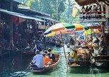 Amphawa Floating & Maeklong Railway Train Market Small group tour