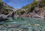 Lugano private guided tour Verzasca valley & Ticino river