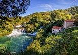Krka waterfalls NP and Šibenik from MAKARSKA