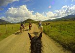 Horseback ride and fly over the west Andes
