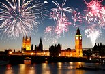 5-Hour New Year's Eve River Dinner Cruise and Fireworks Display in London