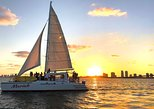 Miami Sunset Cruise With Complimentary Beer, Wine & Hors-d'oeuvre