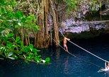 5x1 Mayan Ruins, Cancun, Puerto Morelos City Tour, Cenote & Shopping